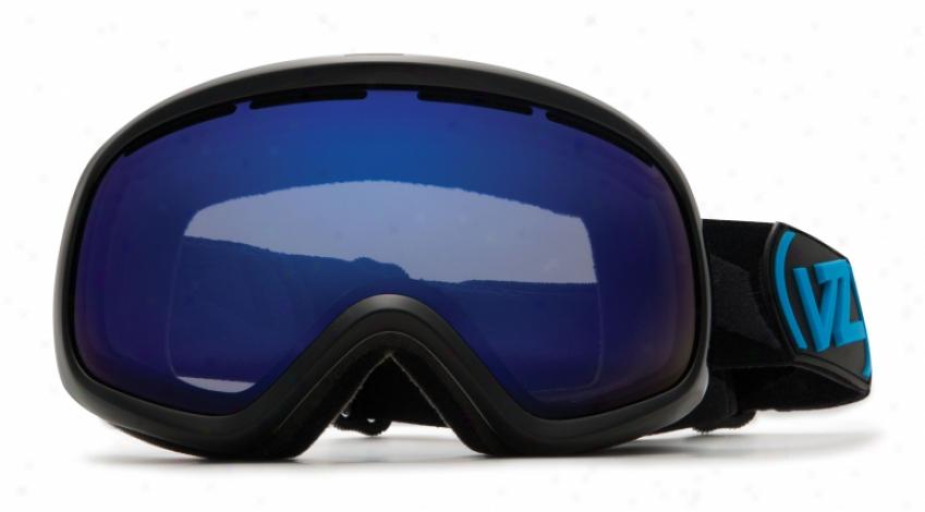 Vonzipper Skylab Snowboard Goggles Black Gloss/astro Chrome Lens