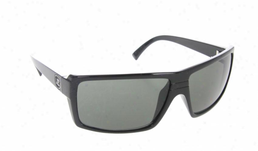 Vonzipper Snwrk Sunglasses Black Gloss/grey Lens