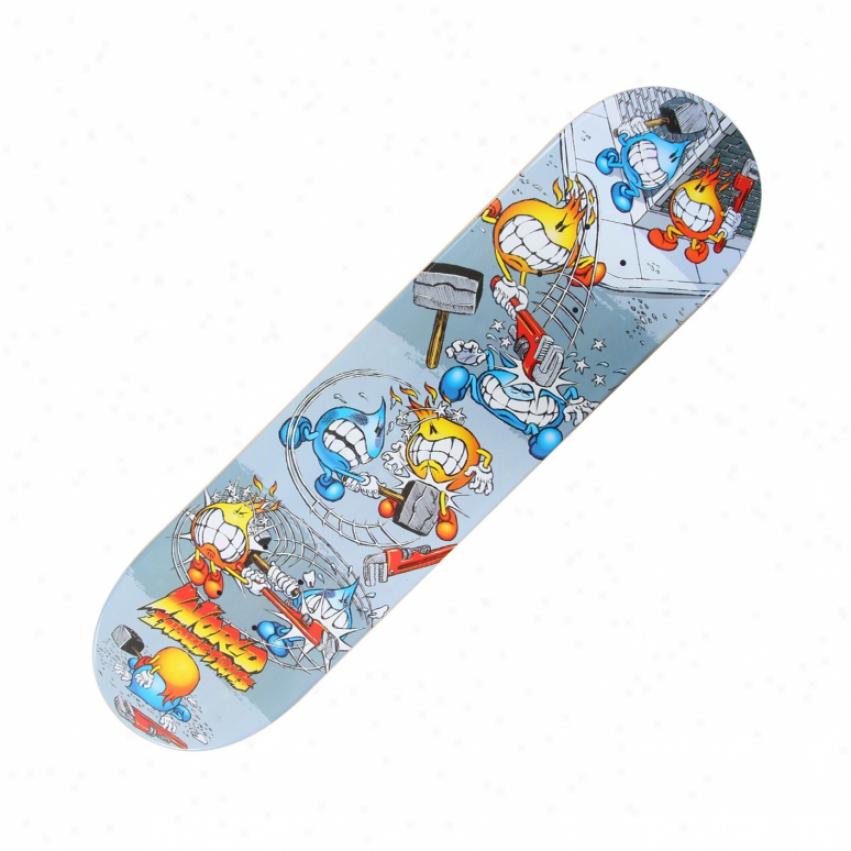 World Industries Street Fight Mini Skateboard Deck