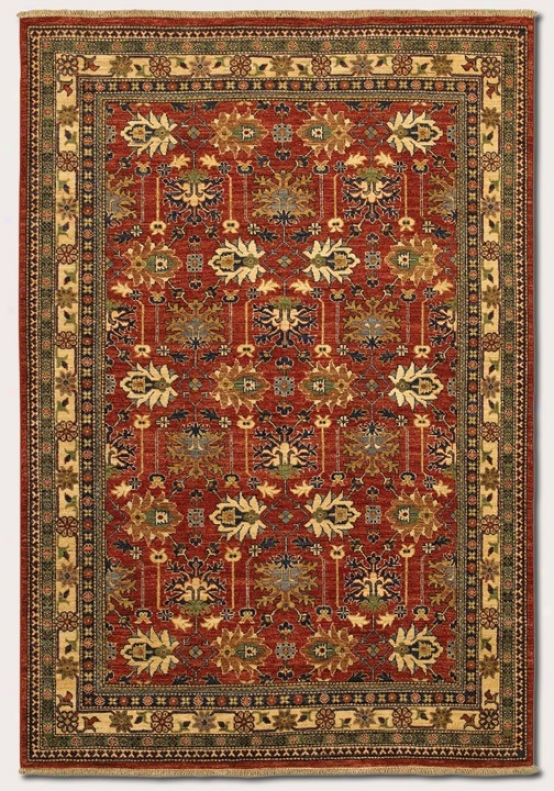12'6&quot X 15' Area Rug Classic Persian Pattern In Reddish Clay