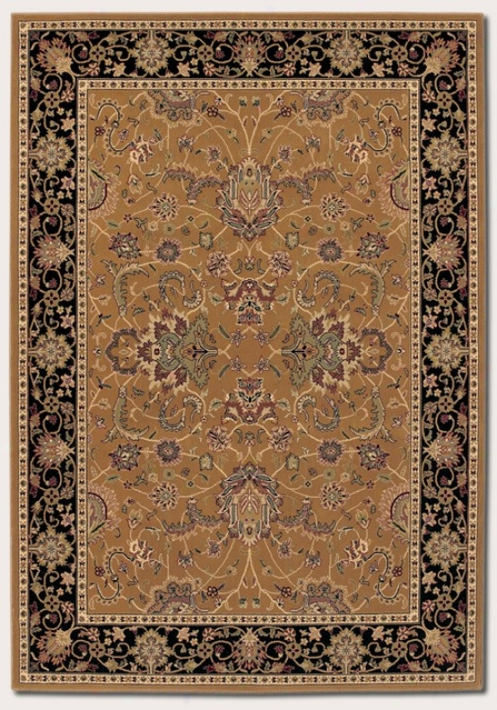 2' X 3'11&quot Yard Rug First-rate work  Persian Pattern In Medallion Gold