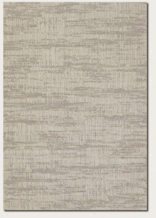 2' X 3'7&quot Area Rug Contemporary Style In Ivory Grey