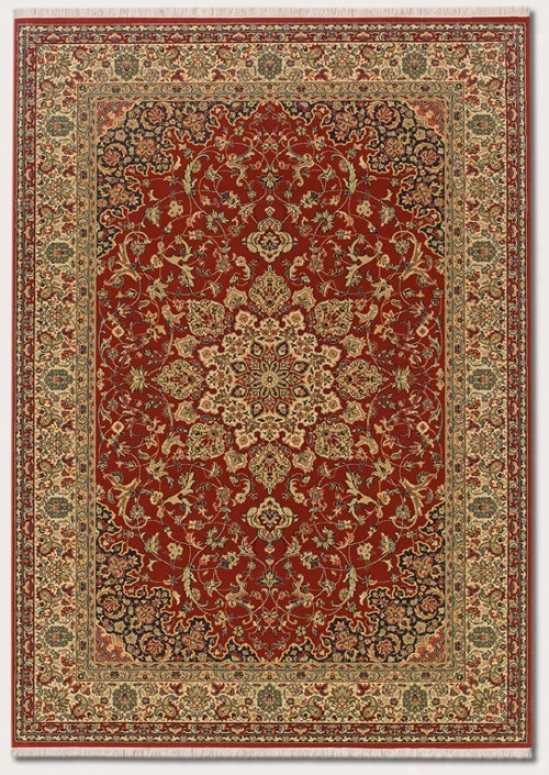 2'2&quot X 4'8&quot Area Rug Classic Persian Design In Rose Bud