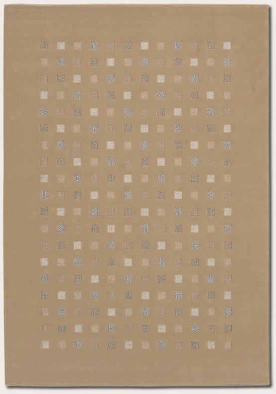 2'2&quot X 7'6&quot Runner Area Rug Contemporary Style In Sahara Tan Color
