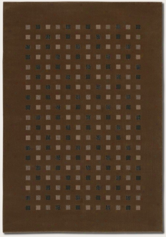 2'2&quot X 7'6&quot Runner Area Rug Contemporary Style In Coffee Color