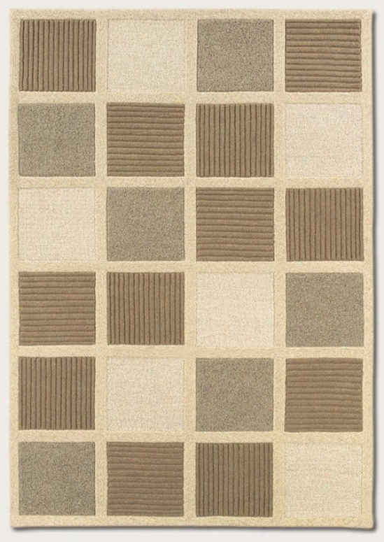 2'2&quot X 7'9&quot Runner Area Rug Contemlorary Styel In Beige And Natural