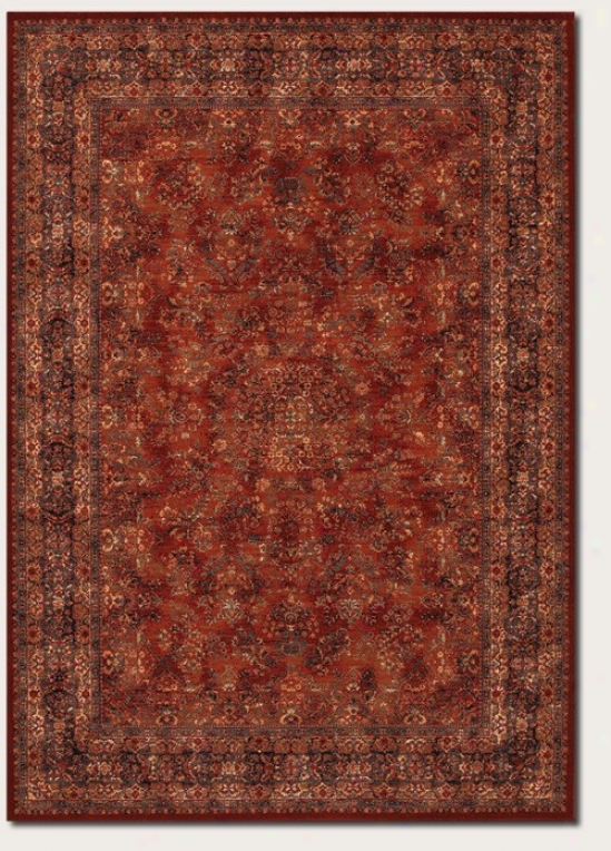 2'2&quot X 8'11&quot Runner Area Rug Classic Persian Pattern In Burgundy