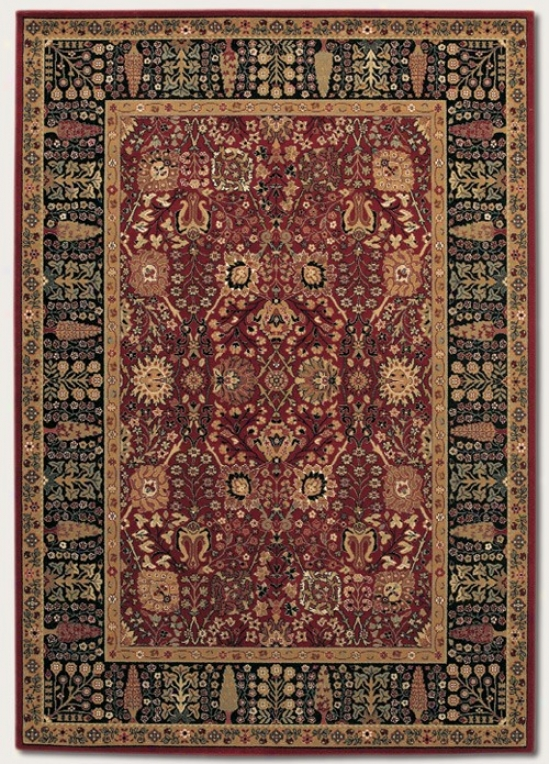 2'2&quot X 8'11&quot Runner Area Rug Classic Persian Pattern In Persian Red