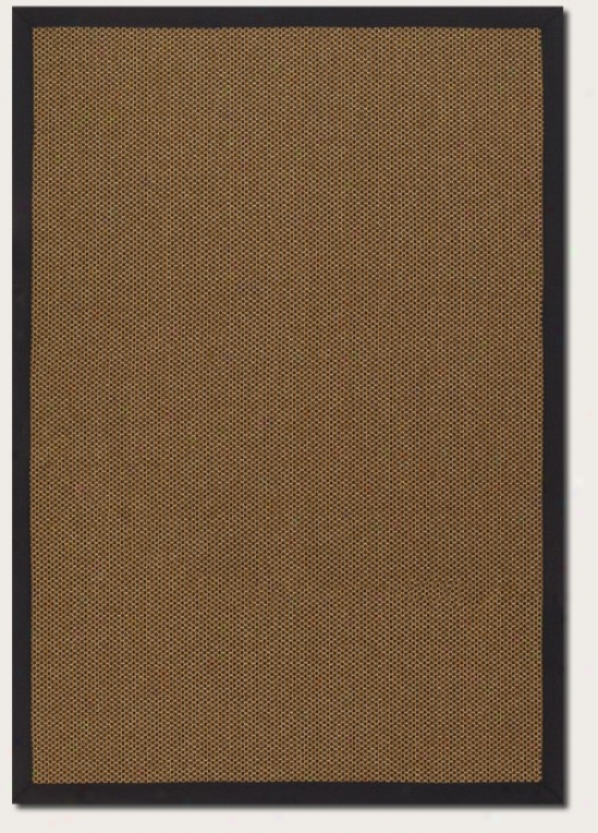 2'3&quot X 7'10&quot Runner Area Rug Gold Color With Blak Border