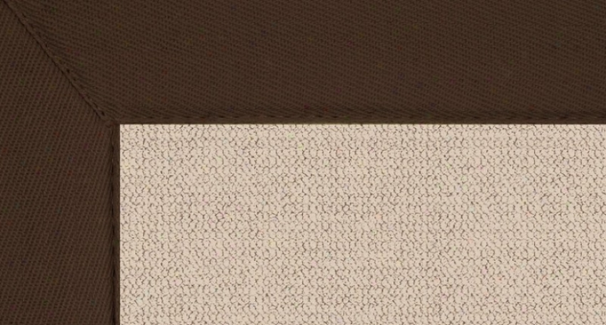 2'6&quot X 12' Natural Wool Runner Area Rug - Athena Hamd Tufted Rug With Brown Put a ~ upon