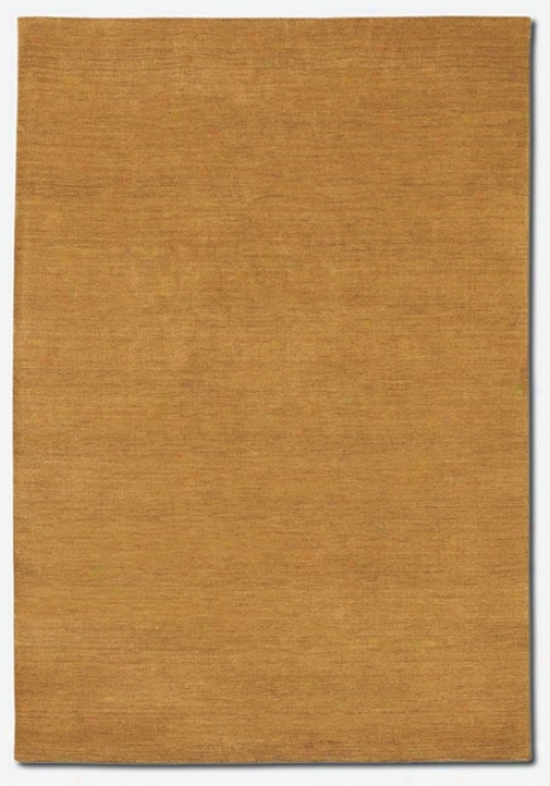 2'6&quot X 4'2&quot Contemporary Design Aura Harvest Gold Area Rug
