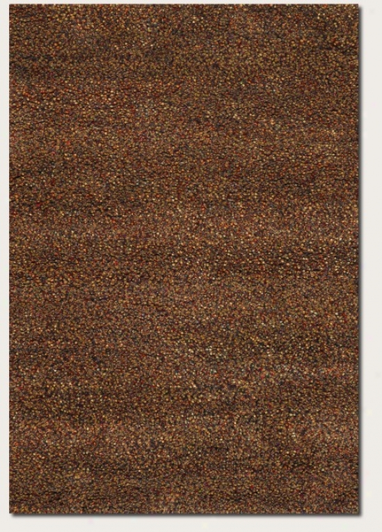 2'6&quot X 4'6&quot Area Rug Contemporary Style Im Copper And Rust Redden