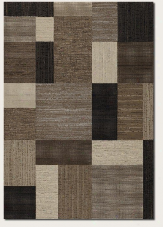 2'7&quot X 7'10&quot Runner Area Rug Variegate Pattern In oMcha And Grey