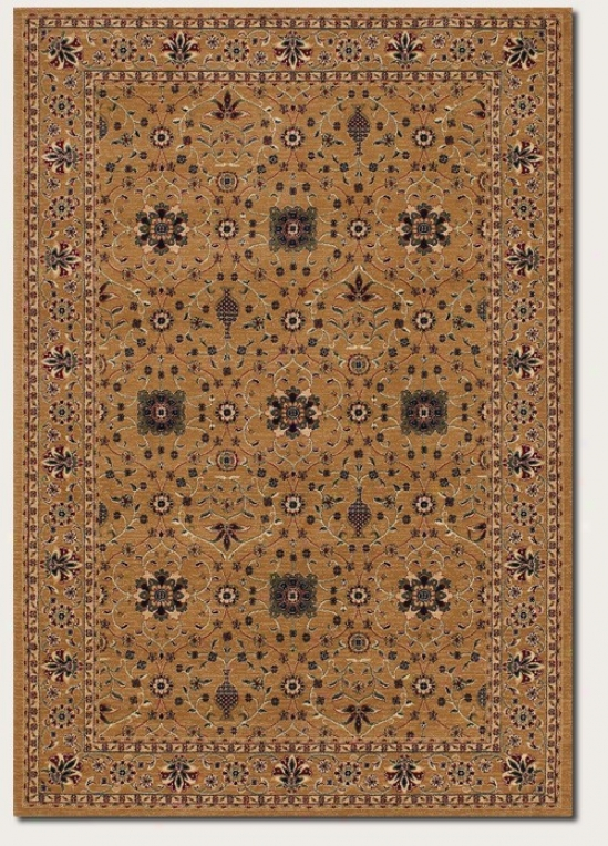 2'7&quot X 7'10&quot Runner Area Rug Persian Flloral Pattern In Beige
