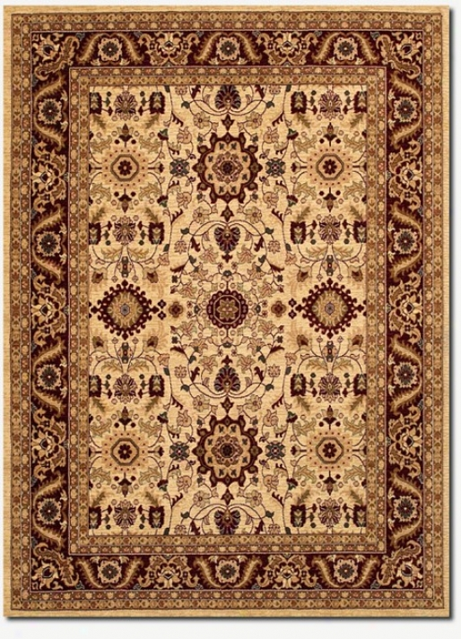 2'7&quot X 7'10&quot Traditional Persian Floral Motifs Runner Area Rug