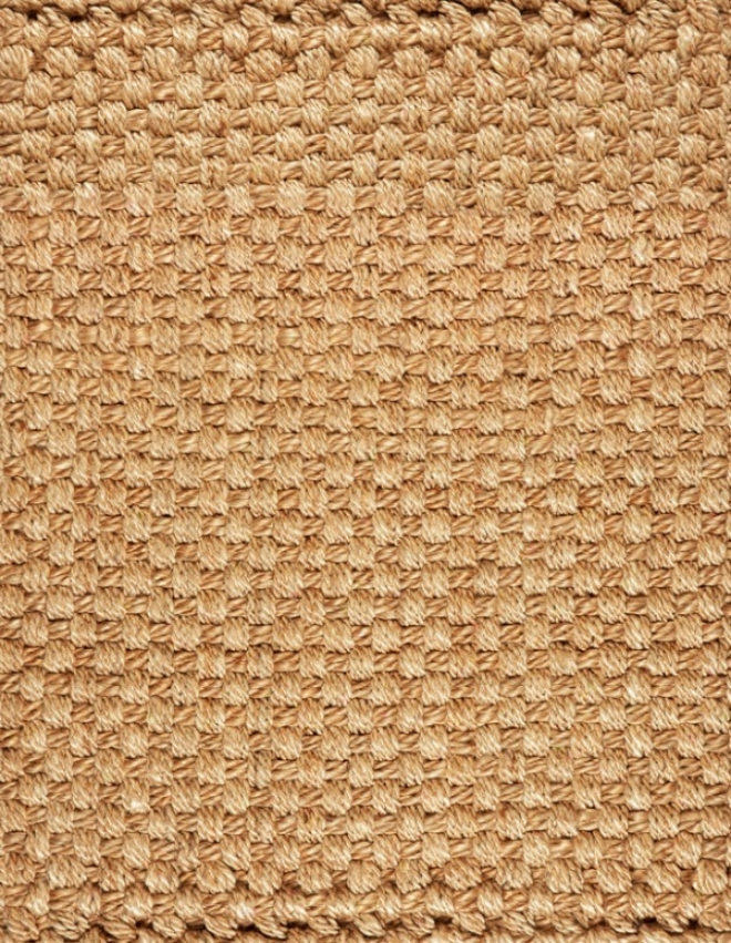 3' X 5' Jute Area Rug Deluxe Possession Braided Design