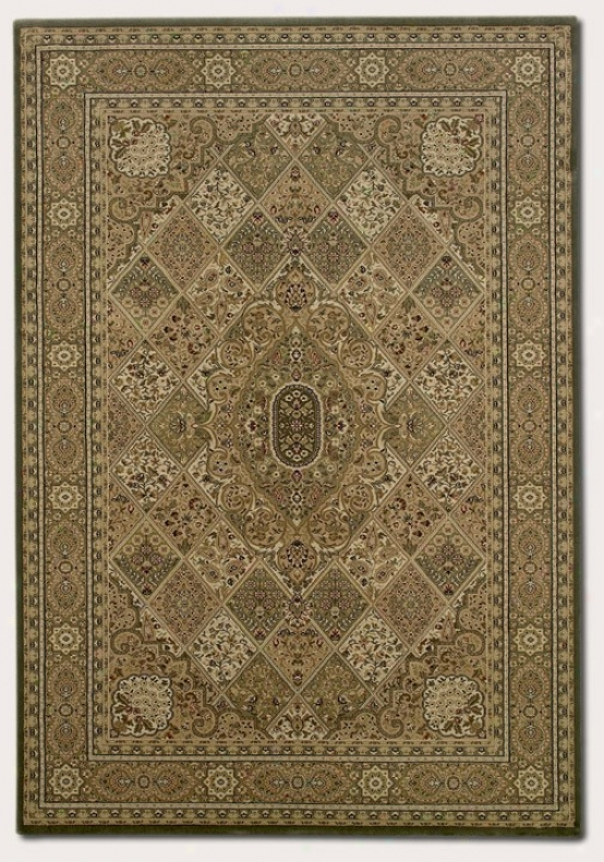 3'11&quot X 5'3&quot Area Rug Classic Persian Pattern In New Khaki Color
