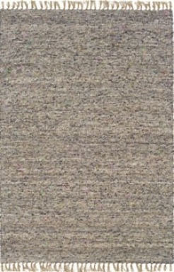 3'5&quot X 5'5&quot Hand Woven Area Rug Boucle Look In Dark And Illegitimate