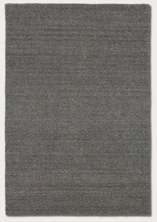 3'6&quot X 5'6&quot Area Rug Contemporary Style In Heathered Grey