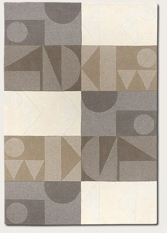 3'6&quot X 5'6&quot Arda Rug Contemlorary Style In Neutral And Grey
