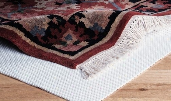 4' X 6' Area Rug Pad Underlay Non-slip Mold And Blight Resistant