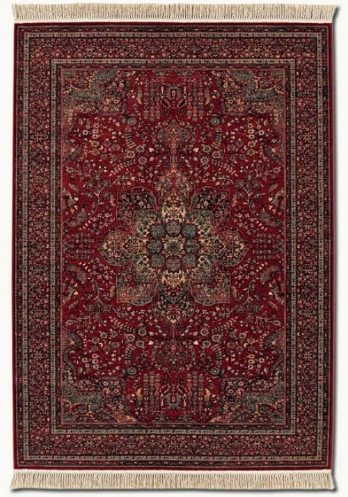 4'6&quot X 6'9&quot Kashimar Medallion Red Classic Persian Design Area Rug