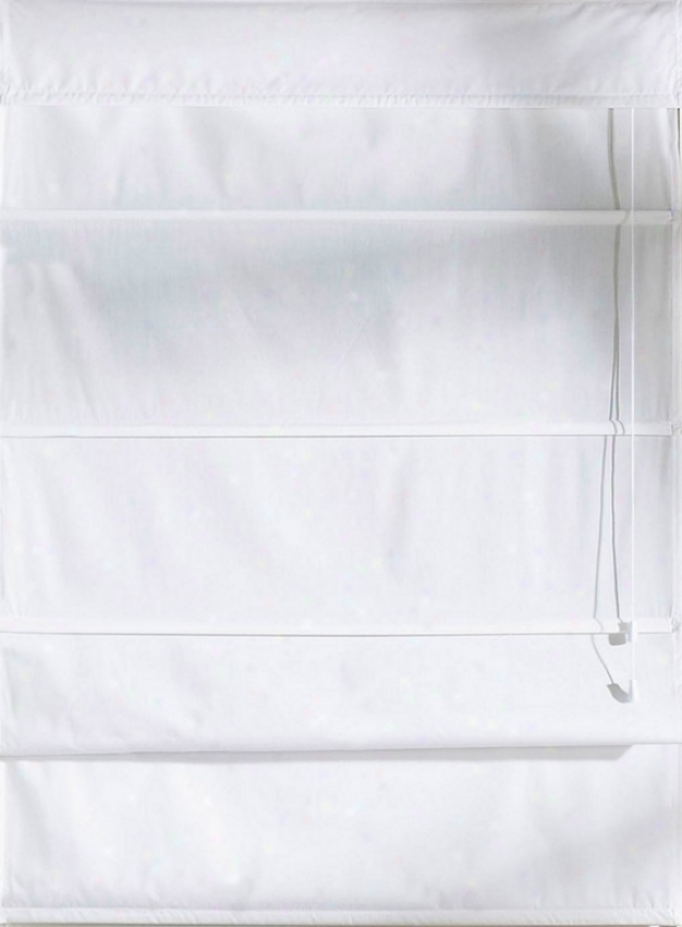 48&quotw Wijdow Privacy Liner In White Color Fabric