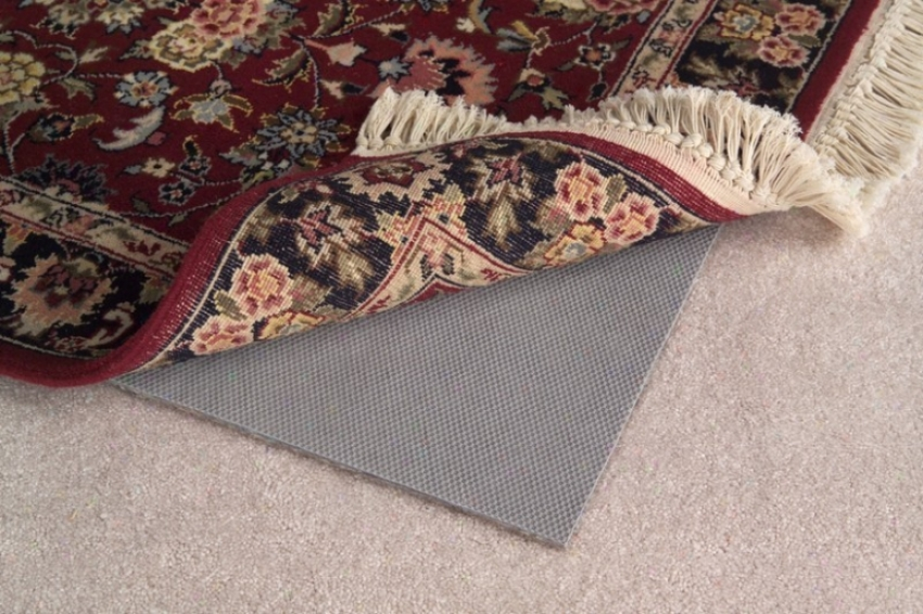 5' X 8' Area Rug Pad Reversible With Non-slip Rubber Backing