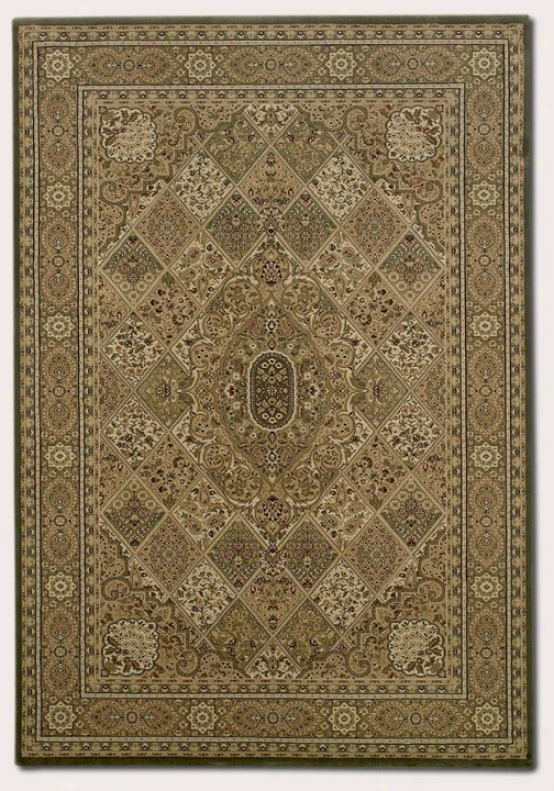 5'3&quot X 7'6&quot Area Rug Classic Persian Pattern In New Khaki Color
