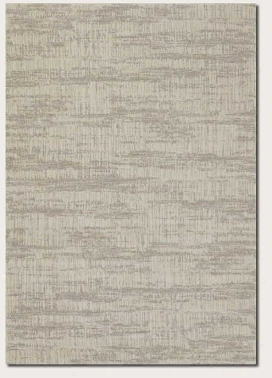 5'3&quot X 7'6&quot Area Rug Contemporary Style In Ivory Grey