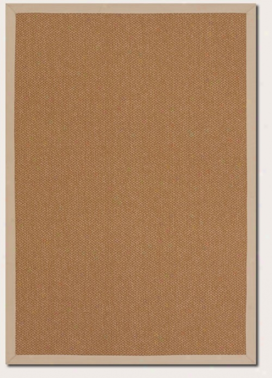 5'3&quot X 7'6&quot Area Rug Gold Color With Sand Border