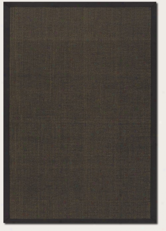 5'3&quot X 7'6&quot Area Rug With Border In Gold Black Color