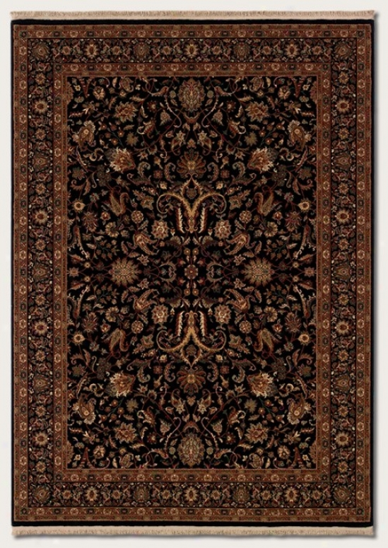 5'3&quog X 7'8&quot Ara Rug Classic Persian Design In Black