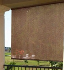 60&quotw Winxow Sun Shade In Cocoa Color Manufactured cloth