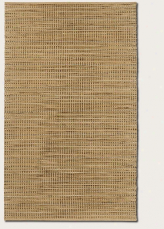 7'10&quot X 10'10&quot Area Rug Contemporary Style In Bleached Sand Color