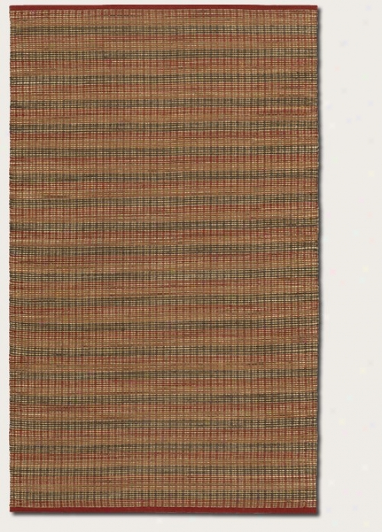 7'10&quot X 10'10&quot Area Rug Contemoprary Style In Crimson Color