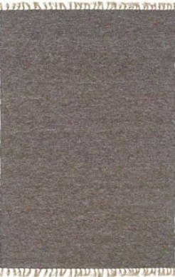 7'10&quot X 10'4&quot Hand Wovej Area Rug Boucle Look In Blue