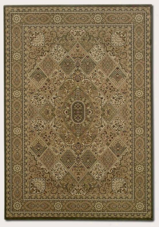 7'10&quot X 11'2&quo tArea Rug Coassic Persian Pattern In New Khaki Coloor