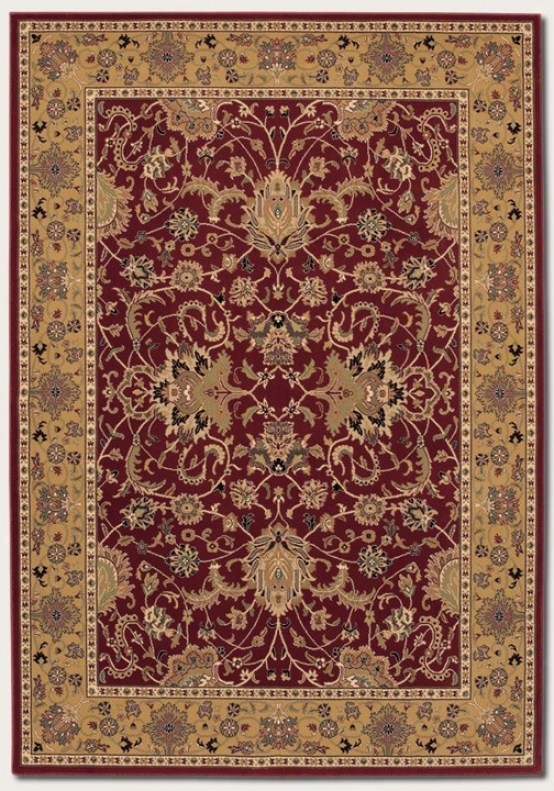 7'10&quot X 11'2&quot Area Rug First-rate work  Perxian Pattern In Persian Red