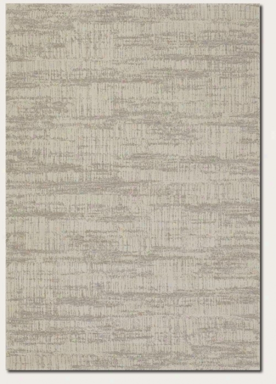 7'10&quot X 11'2&quot Area Rug Contemporary Style In Ivory Grey