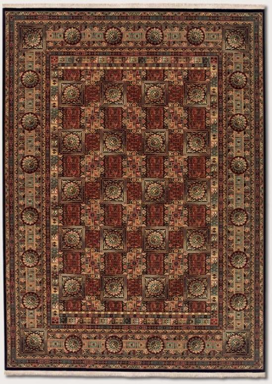 7'10&quot X 11'3&quot Area Rug Classic Persian Design In Brown
