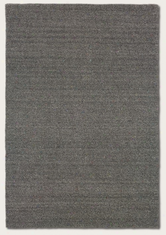 8' X 11' Area Rug Contemporary Style In Heathered Grey