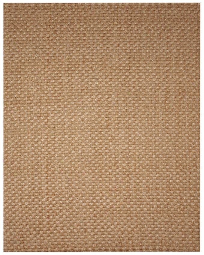 9' X 12' Jute Area Rug Eco-friendly Deluxe Palm Braided Design
