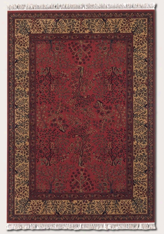 9'10&quot X 14' Area Rug Persian Pattern In Red And Beige