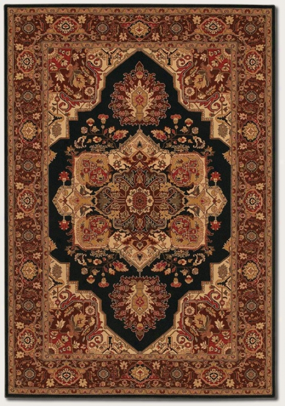9'2&quot X 11'5&quot Superficial contents Rug Classic Persian Patte5n In Brown Rust
