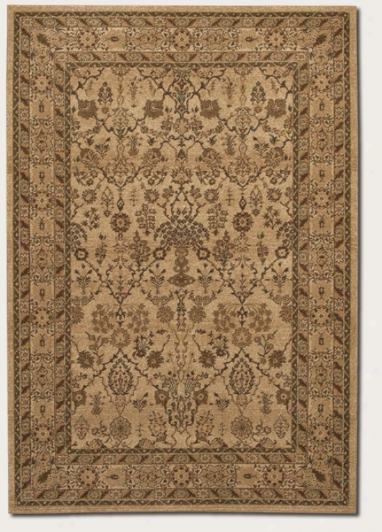 9'9&quot X 13' Area Rug Persian Pa5tern In Latte Color