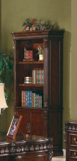 Bookcase In Rich Brown Perfect