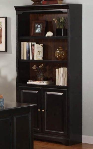 Home Office Bookcase In Espresso Finish