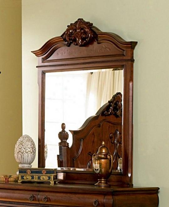 Isabella Bexroom Collection Solid Hardwood Framed Reflector