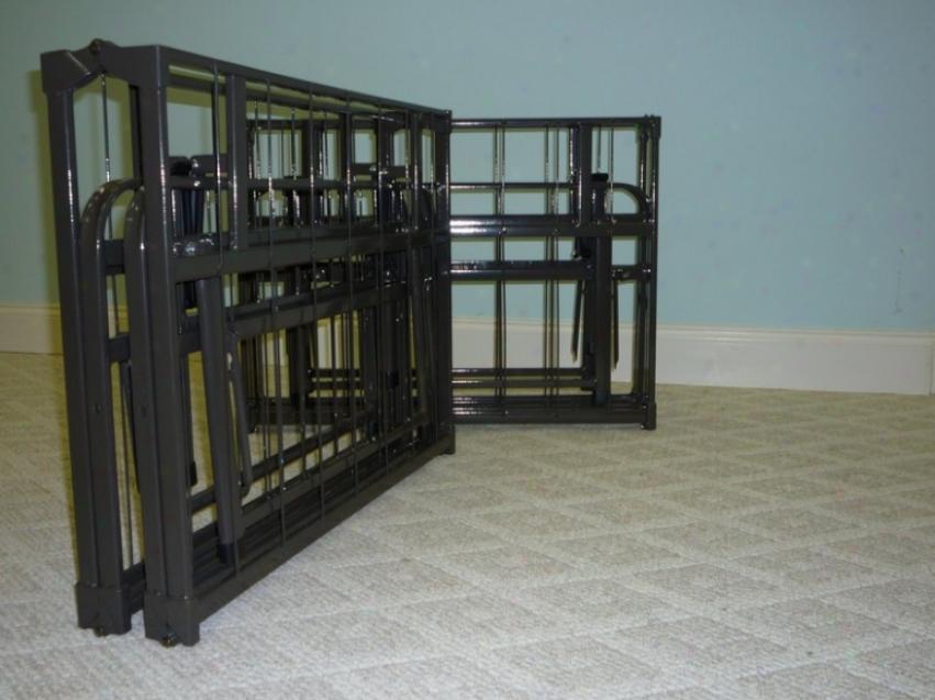 King Size Quad-fold Folding Bed Frame